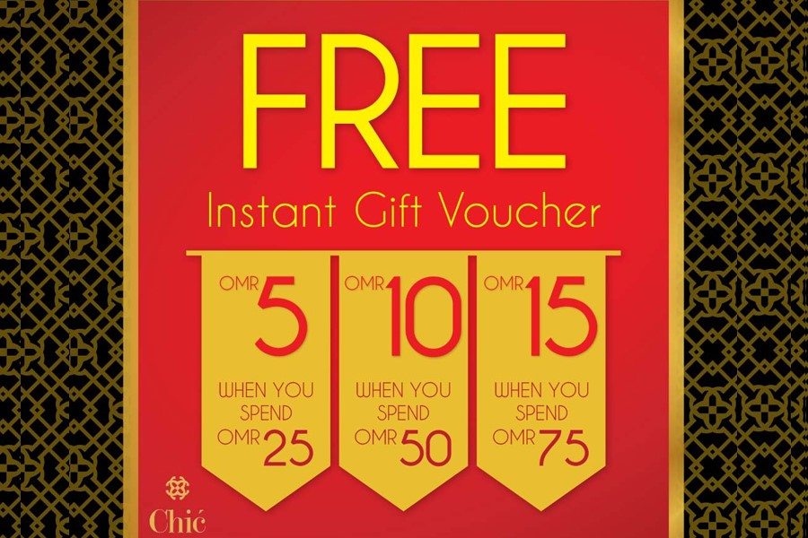 Chic Shoes - Gift Voucher Promotion